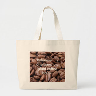 Spill the Beans Large Tote Bag