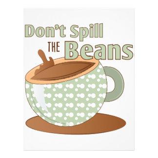 Spill The Beans Letterhead