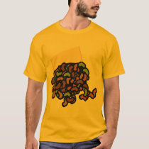 Spill the Beans Pictograph Shirt