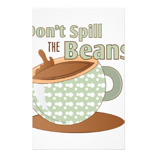 Spill The Beans Stationery