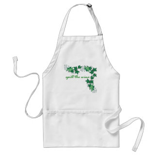 Spill the Wine Adult Apron