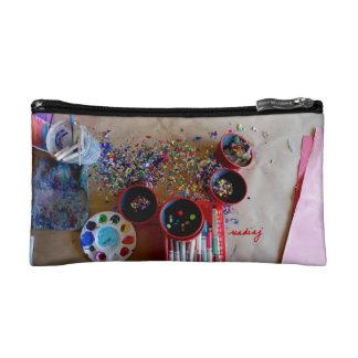 Spilled Art Bag Makeup Bag