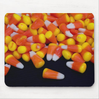 Spilled Candy Corn Mousepad