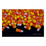 Spilled Candy Corn Poster
