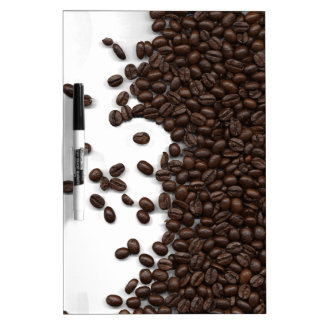 Spilled Coffee Beans Dry-Erase Whiteboards