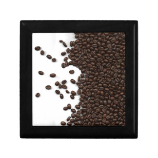 Spilled Coffee Beans Keepsake Boxes