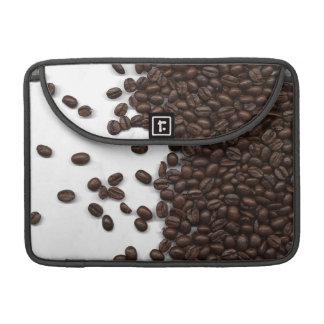 Spilled Coffee Beans Sleeves For MacBook Pro