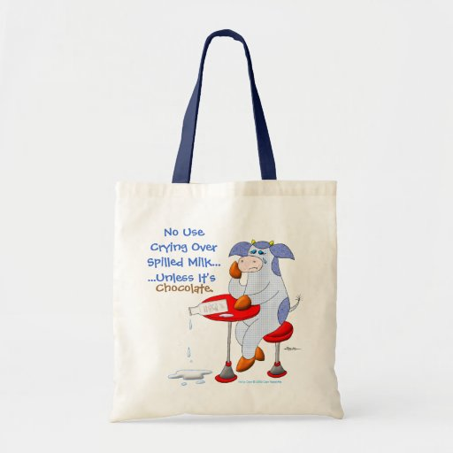 Spilled Milk Canvas Bags