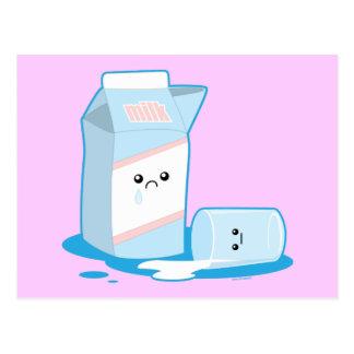 Spilled Milk Postcard