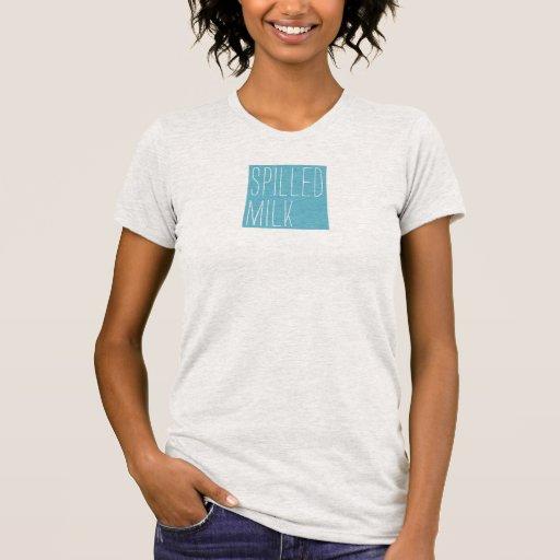Spilled Milk square logo women's shirt