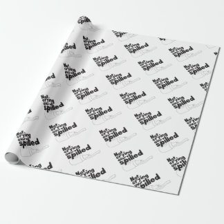 Spilled Milk Wrapping Paper