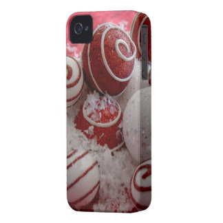 Spilled Ornaments Barely There iPhone 4 Case-Mate Cases