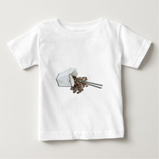 SpilledTakeOutBoxCoins101412 copy.png Baby T-Shirt