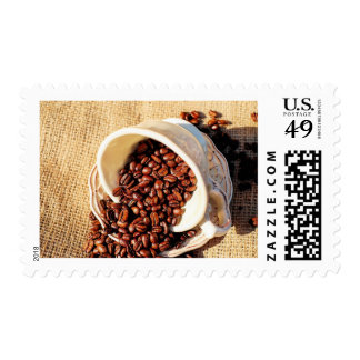 Spilling the Coffee Beans Stamp