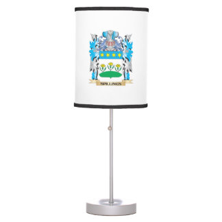Spillings Coat of Arms - Family Crest Table Lamp