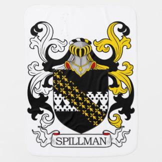 Spillman Family Crest Receiving Blankets