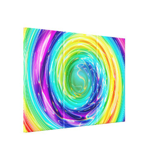 Spin 6 canvas print