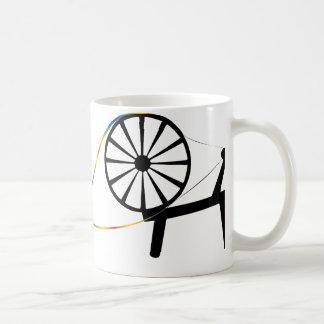 Spin a Fiber Rainbow Personalized Mug