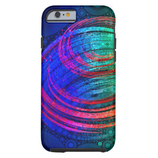 Spin - Abstract Digital Painting Tough iPhone 6 Case