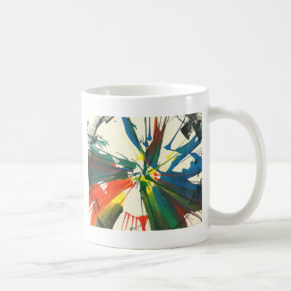 Spin-Art 1974. My very first work artwork Classic White Coffee Mug