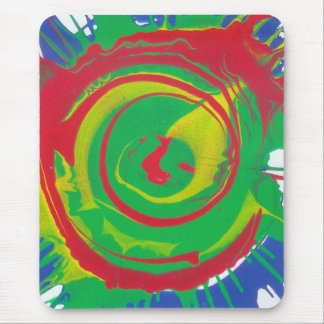 Spin Art 2 Mouse Pad