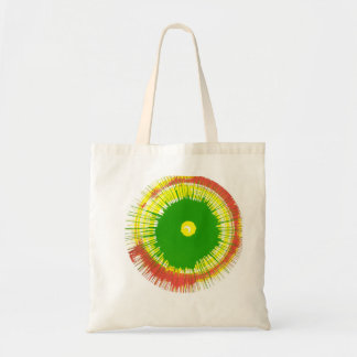 Spin Art Tote Bags