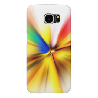 Spin-Art Colorful Effect Samsung Galaxy S6 Cases