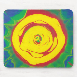 Spin Art Mouse Pad
