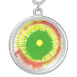 Spin Art necklace
