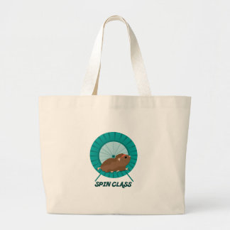 Spin Class Canvas Bags