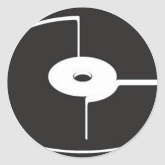Spin Classic Round Sticker