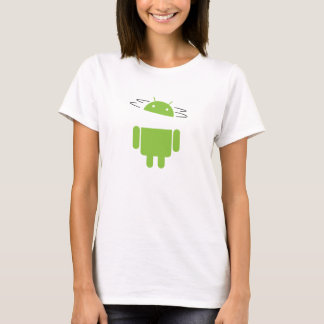 Spin Head Android T-Shirt