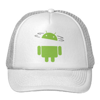 Spin Head Android Trucker Hat
