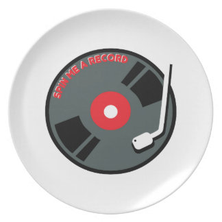 Spin Me A Record Plates