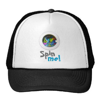 Spin me! trucker hat