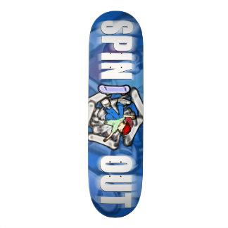 Spin Out Skateboard Deck
