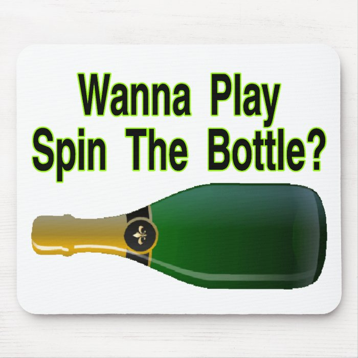 Spin The Bottle Mouse Pad