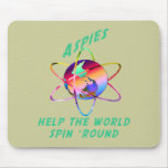 Spin the World Mousepad