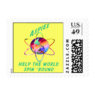 Spin the World Stamps