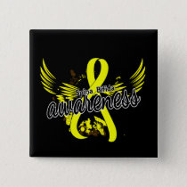Spina Bifida Awareness 16 Pinback Button