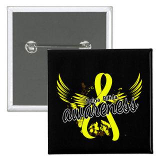 Spina Bifida Awareness 16 Pinback Button