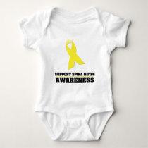 Spina Bifida Awareness Baby Bodysuit