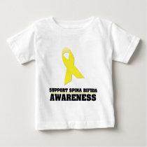 Spina Bifida Awareness Baby T-Shirt