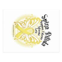 Spina Bifida Butterfly 3 Postcard