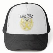 Spina Bifida Butterfly 3 Trucker Hat