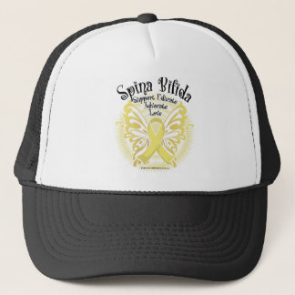 Spina Bifida Butterfly 3 Trucker Hat
