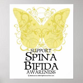 Spina Bifida Butterfly Print