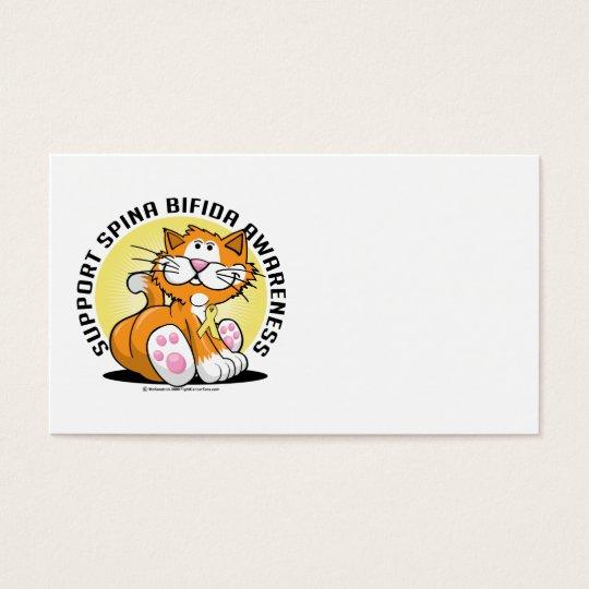 Spina Bifida Cat Business Card