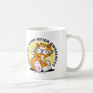 Spina Bifida Cat Coffee Mug