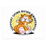 Spina Bifida Cat Post Card